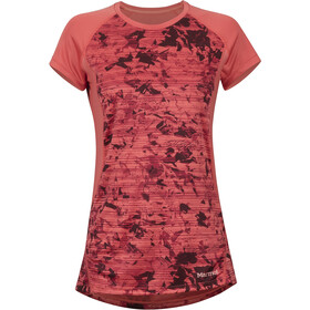 Marmot Crystal Camiseta manga corta Mujer, flamingo mind game